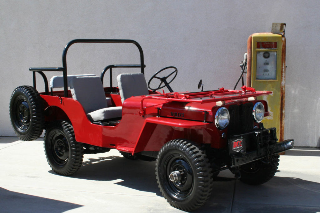 1946 Willy's CJ2A Civilian Model - Dias Classic Cars